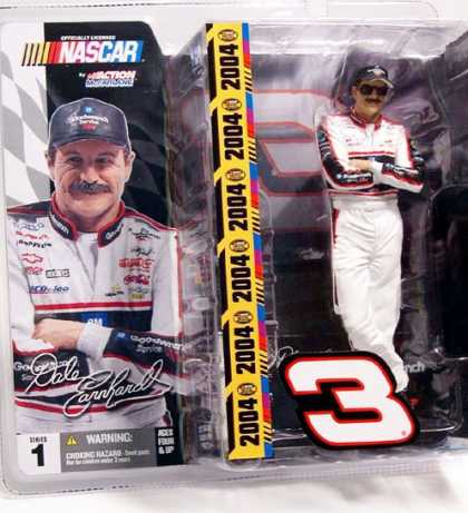 Action Figure Boxes - Nascar