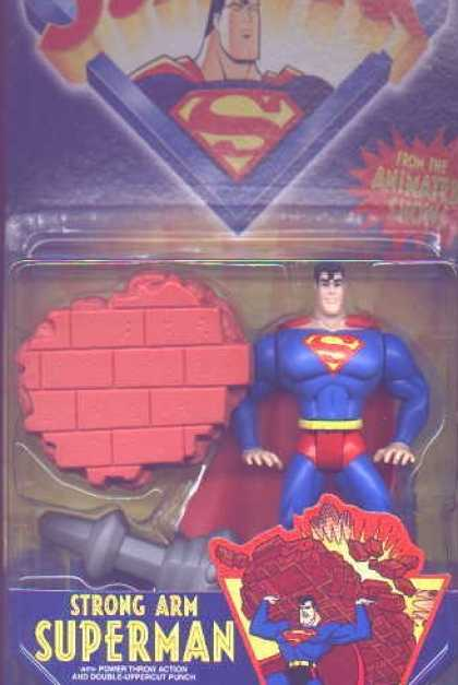 Action Figure Boxes - Strong Arm Superman