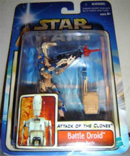 Action Figure Boxes - Star Wars Battle Droid