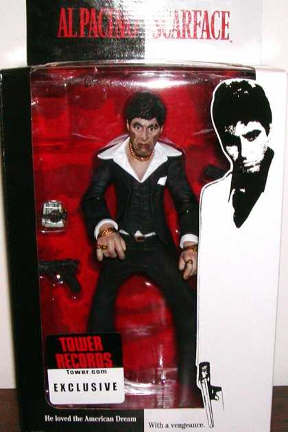 Action Figure Boxes - Scarface