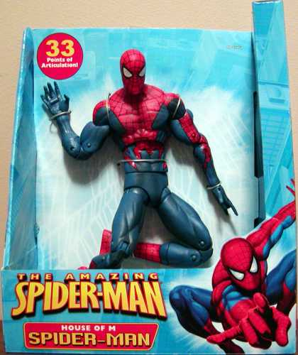 Action Figure Boxes - Spider-Man