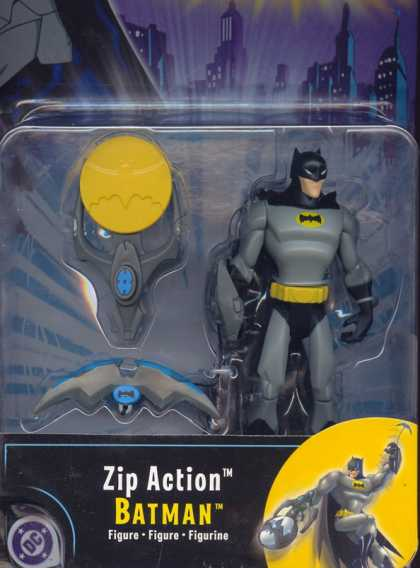 Action Figure Boxes - Zip Action Batman