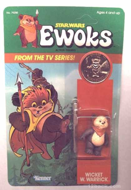 Action Figure Boxes - Star Wars Ewoks: Wicket W. Warrick