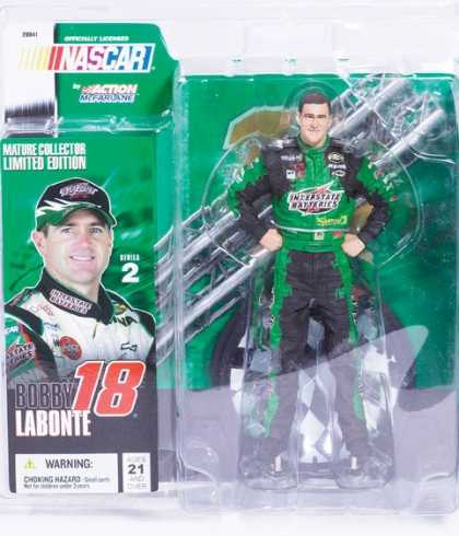 Action Figure Boxes - Nascar Bobby Labonte