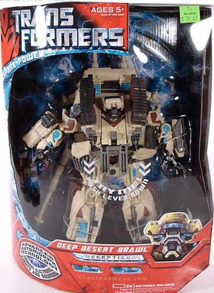 Action Figure Boxes - Transformers Deep Desert Brawl