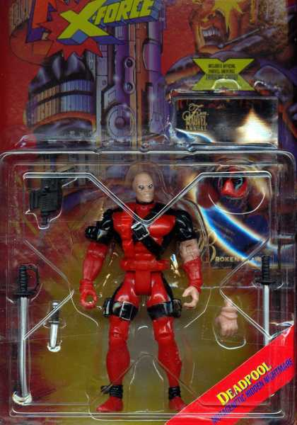Action Figure Boxes - X-Men: Deadpool