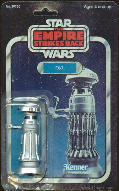 Action Figure Boxes - Star Wars: FX-7