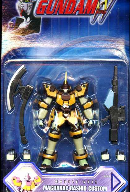 Action Figure Boxes - Gundam Maguanac Rashid Custom