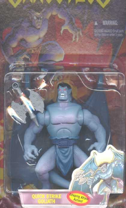 Action Figure Boxes - Gargoyles Quick Strike Goliath