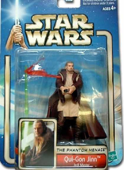 Action Figure Boxes - Star Wars: Qui-Gon Jinn