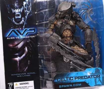 Action Figure Boxes - AVP: Alien vs Predator