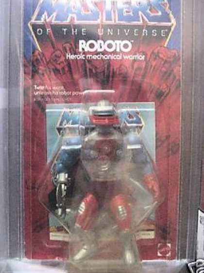 Action Figure Boxes - Masters of the Universe: Roboto