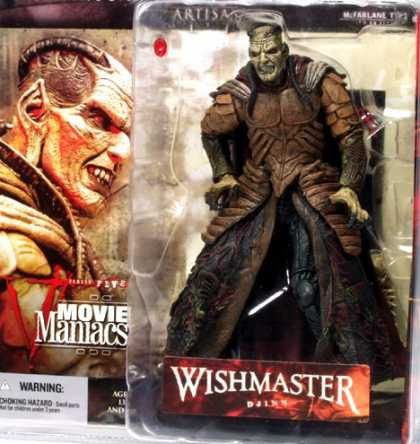 Action Figure Boxes - Wishmaster