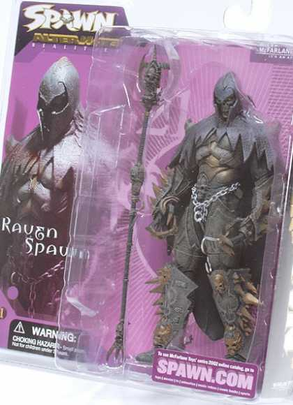 Action Figure Boxes - Raven Spawn