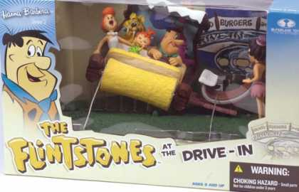 Action Figure Boxes - Flintstones