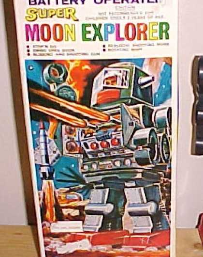 Action Figure Boxes - Super Moon Explorer