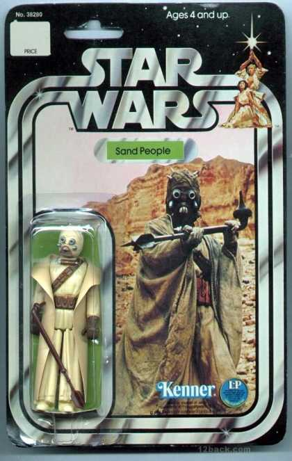Action Figure Boxes - Star Wars: Sand People