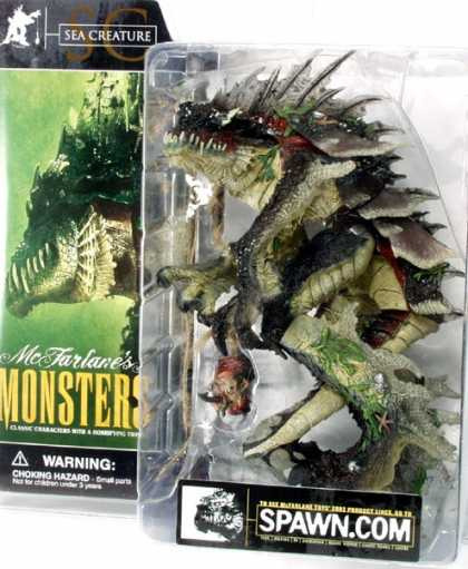 Action Figure Boxes - Spawn Monster: Sea Creature
