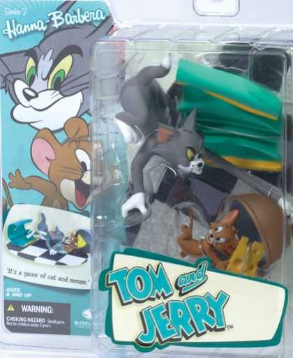 Action Figure Boxes - Tom and Jerry