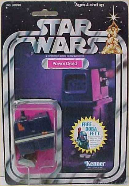 Action Figure Boxes - Star Wars: Power Droid