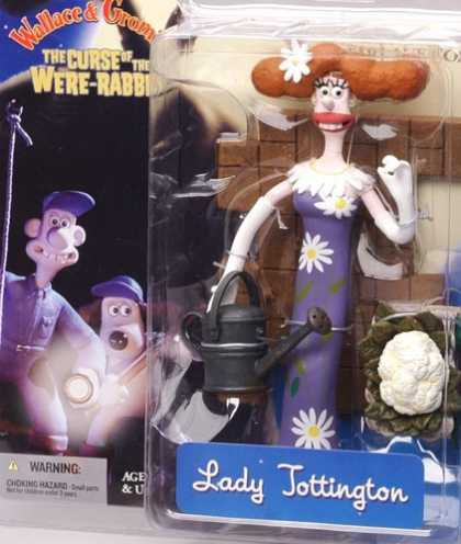 Action Figure Boxes - Wallace and Gromit: Lady Tottington