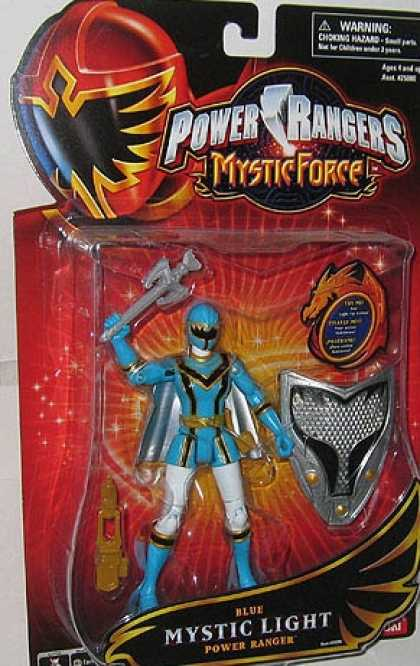 Action Figure Boxes - Power Rangers: Mystic Light