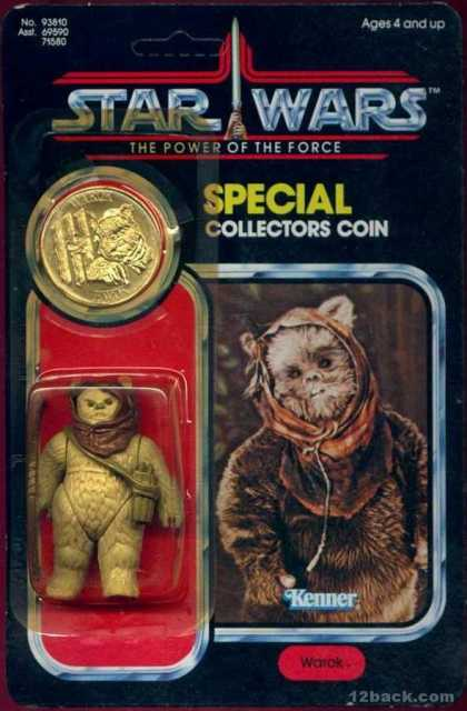 Action Figure Boxes - Star Wars Ewok