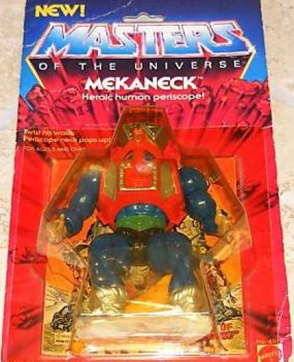 Action Figure Boxes - Masters of the Universe: Mekaneck