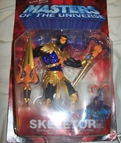 Action Figure Boxes - Masters of the Universe: Skeletor