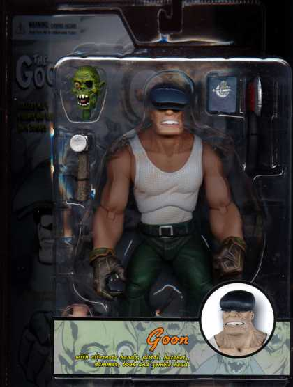 Action Figure Boxes - Goon
