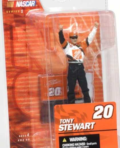 Action Figure Boxes - Nascar Tony Stewart