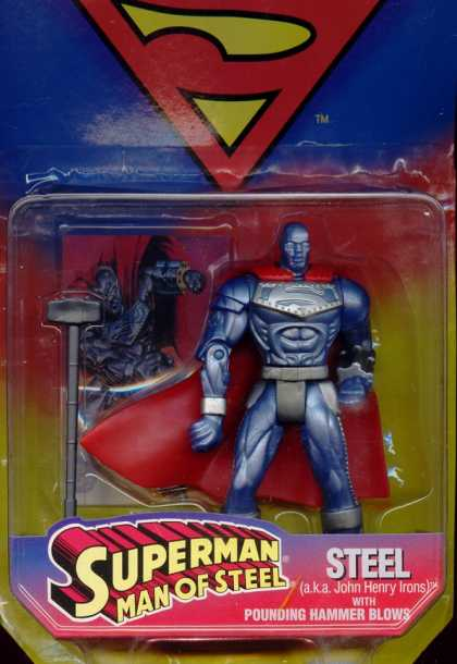 Action Figure Boxes - Superman: Steel