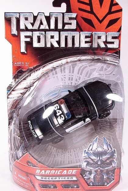Action Figure Boxes - Transformers Barricade