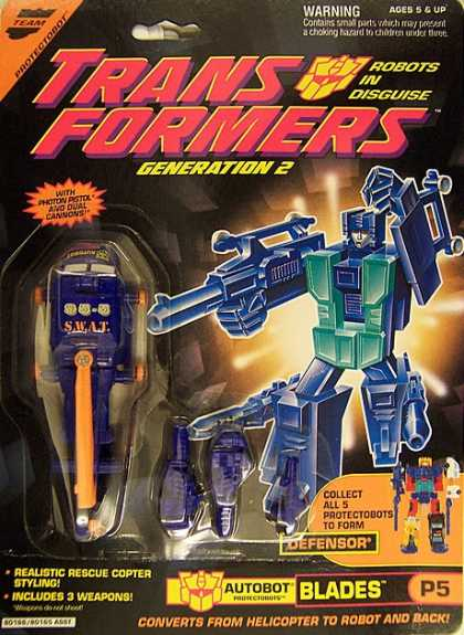 Action Figure Boxes - Transformers Autobot Blades