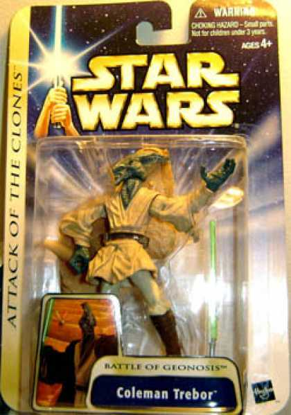 Action Figure Boxes - Star Wars: Coleman Trebor