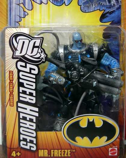 Action Figure Boxes - DC Super Heroes: Mr. Freeze