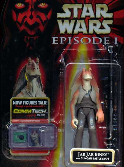 Action Figure Boxes - Star Wars: Jar Jar Binks