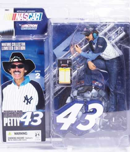 Action Figure Boxes - Nascar: Richard Petty
