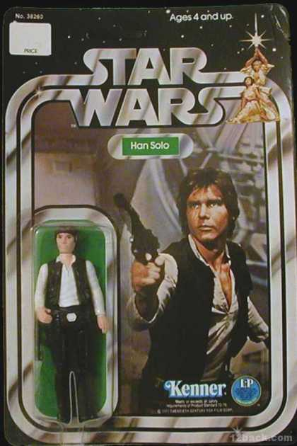 Action Figure Boxes - Star Wars: Han Solo