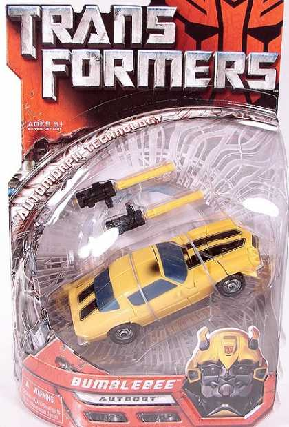 Action Figure Boxes - Transformers Bumblebee
