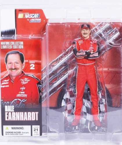 Action Figure Boxes - Nsscar Dale Earnhardt