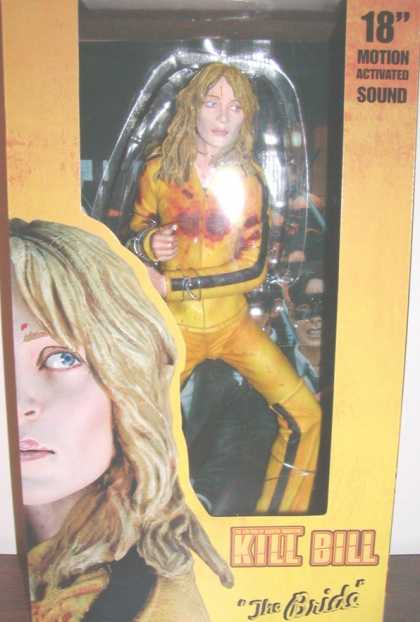 Action Figure Boxes - Kill Bill: The Bride