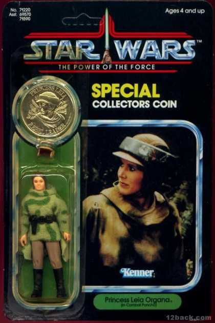 Action Figure Boxes - Star Wars: Leia