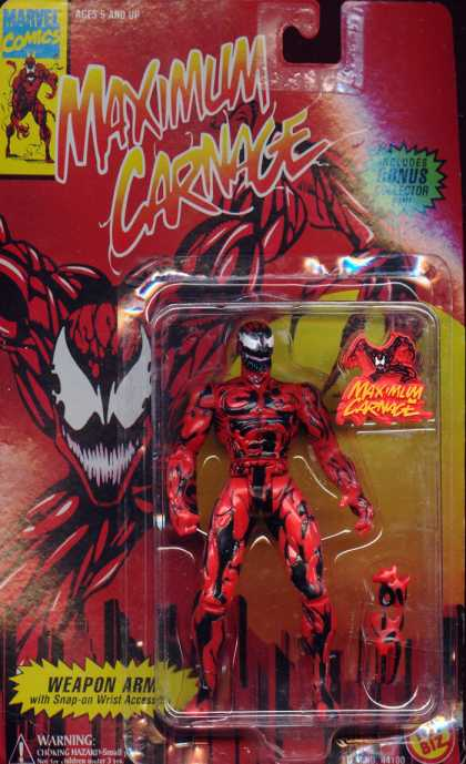 Action Figure Boxes - Carnage