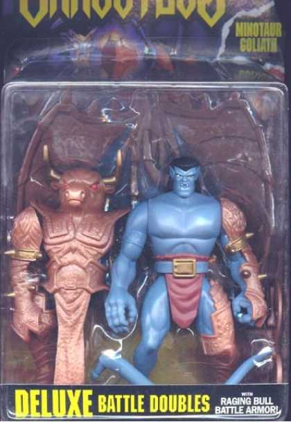 Action Figure Boxes - Gargoyles Minotaur Goliath