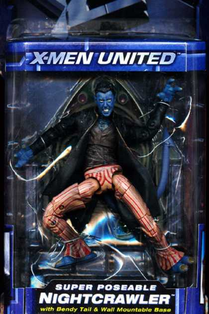 Action Figure Boxes - X-Men: Nightcrawler