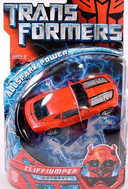 Action Figure Boxes - Transformers Cliffjumper