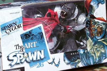 Action Figure Boxes - Art of Spawn: Cygor