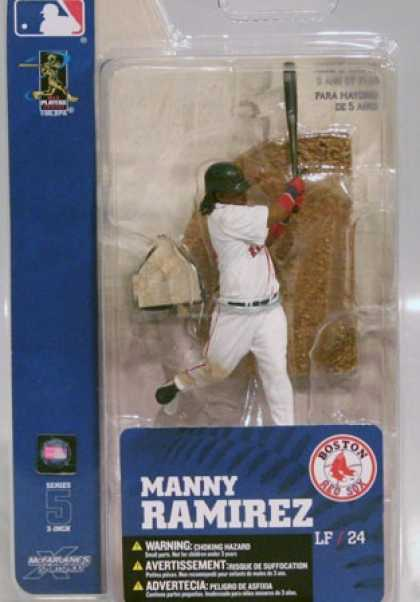 Action Figure Boxes - Baseball Manny Ramirez