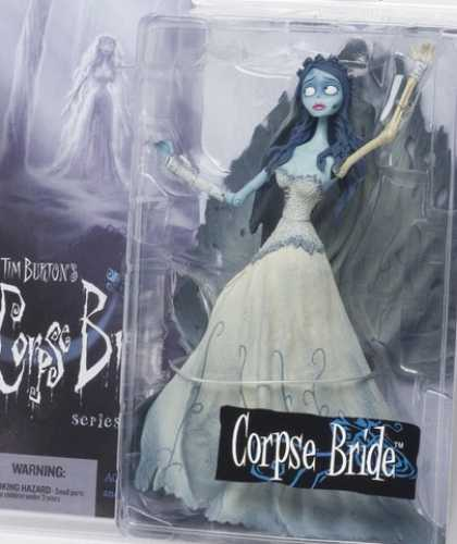 Action Figure Boxes - Tim Burton's Corpse Bride